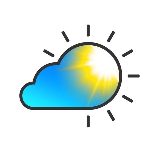 気象ライブフリー - 今日、明日、7日間の天気予報および天気図