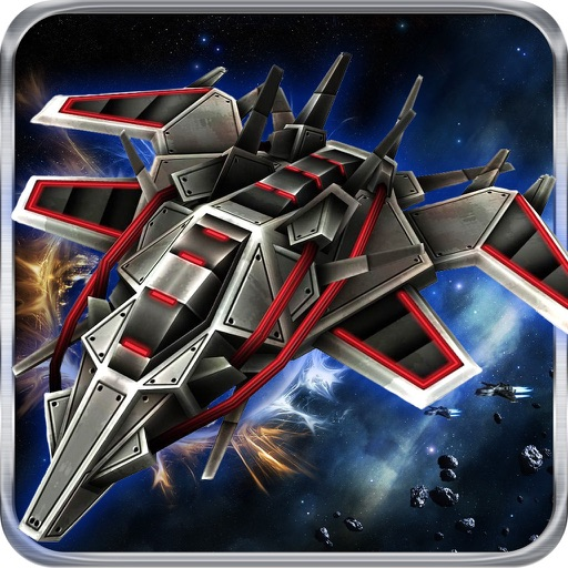 Galaxy Fighter - rocket ship games iOS App