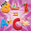 Alfabeto español para bebés y niños: aprender los números y las letras en Español! GRATIS juego de memorización - juegos para niños