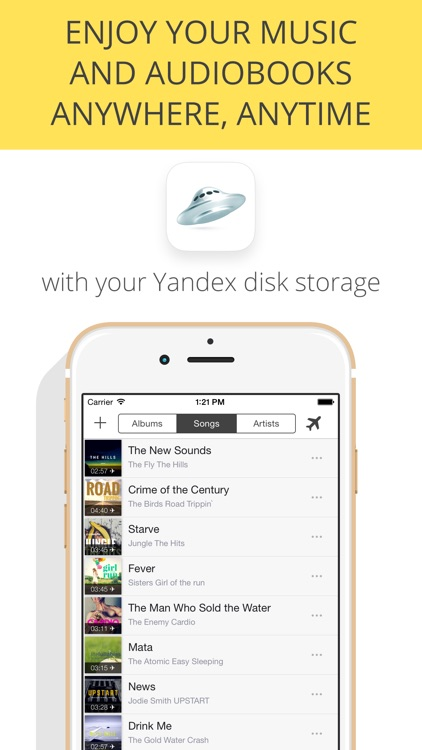 Cloud Music Player & Downloader for Yandex Disk - stream or ...
