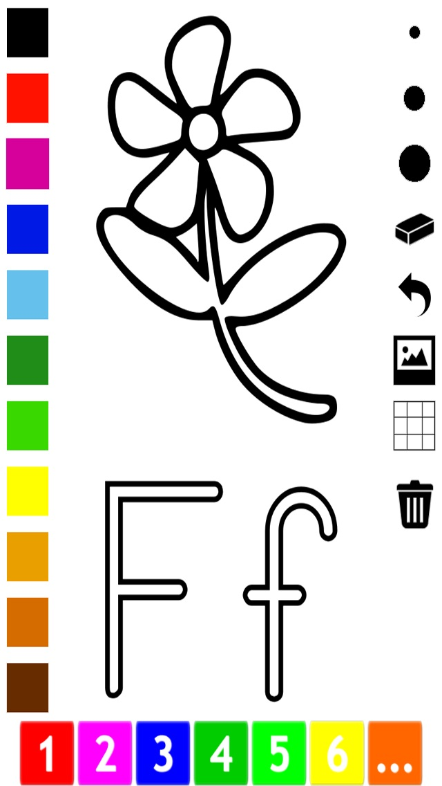 download Abc Livre à colorier pour les tout-petits: Apprendre à écrire et dessiner les lettres de l'alphabet en anglais avec de nombreuses photos pour l'école, préscolaire et à la maternelle apps 0