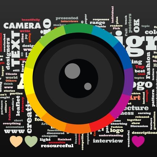 Text Camera Icon