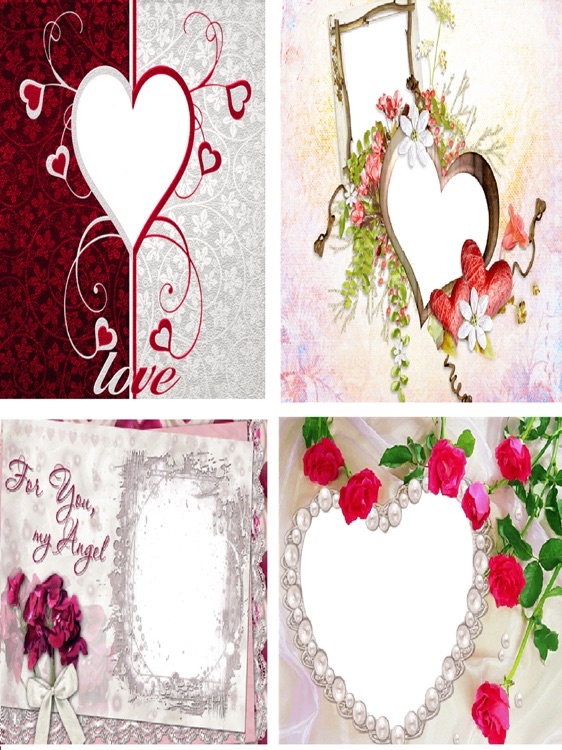 Love Photo Frames Love Wallpaper Photos Background by Janice Ong