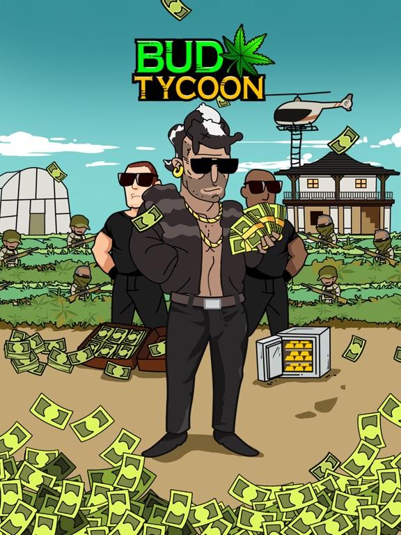 Screenshots of Bud Tycoon - Money Games for Pocket Weed Farm for iPad