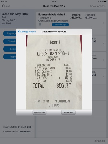 Concur - Travel, Receipts, Expense Reports Screenshot