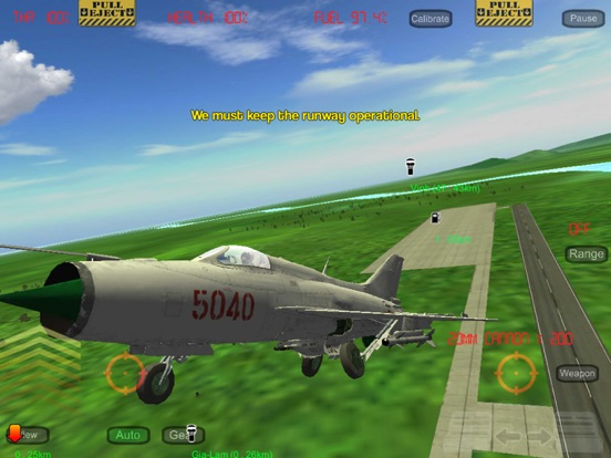 Screenshot #1 for Gunship III - Combat Flight Simulator - VPAF