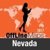Невада Оффлайн Карта и