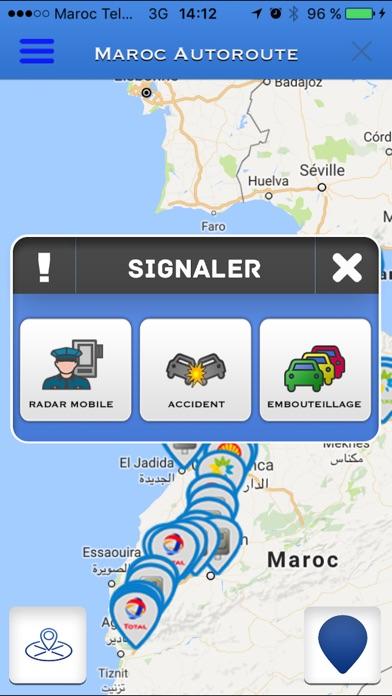 Maroc AutoroutesCapture d'écran de 1