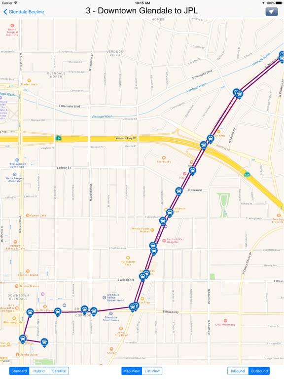Glendale Beeline Transits California on the App Store
