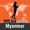 Myanmar Offline Map and Travel Trip Guide