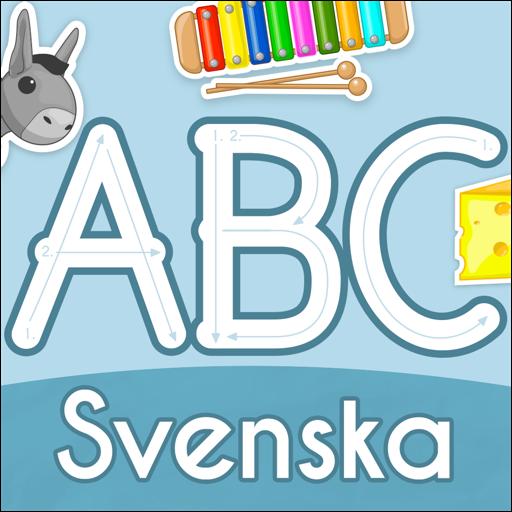 ABC StarterKit Svenska: Lära läsa & skriva bokstäver