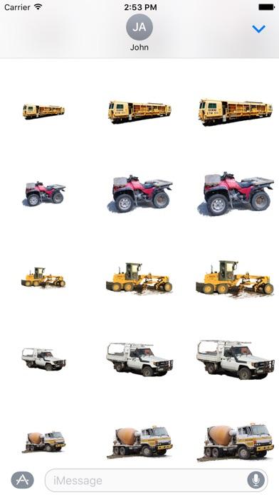 Car Truck Digger Stickersのスクリーンショット3