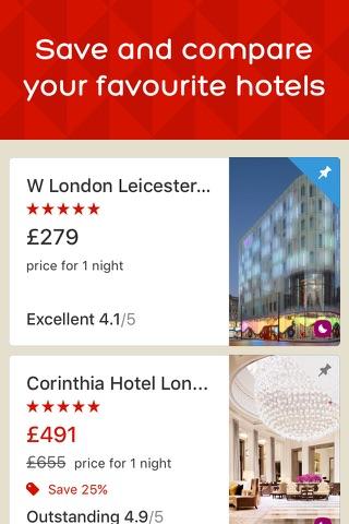Hotels.com - Hotel booking screenshot 3