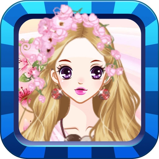 Korean Princess-Girl Makeup Games Icon