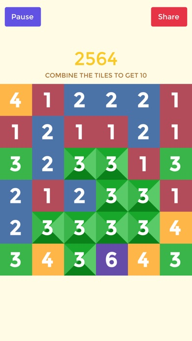 Screenshots of Can you get 10 - 10/10 Number Game The Last Hocus for iPhone