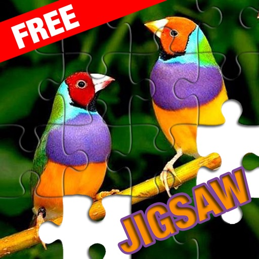 Bird Sliding Jigsaw Puzzle for Adults and Kids iOS App