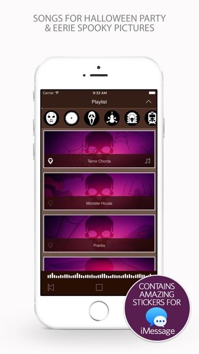 ハロウィンパーティー&怖い不気味な写真のための歌 screenshot1