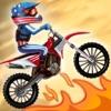 Top Bike Free -- awesome stunt bike racing game game free for iPhone/iPad