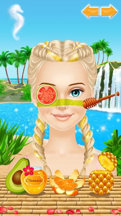 Tropical Princess - Makeup and Dressup Salon Game Screenshot 2