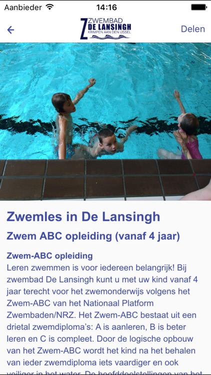 Zwembad De Lansingh By Concapps Bv