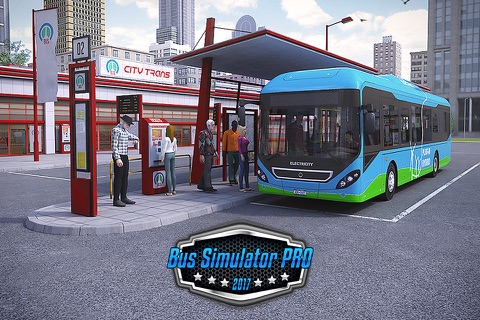 Bus Simulator PRO 2017 screenshot 1