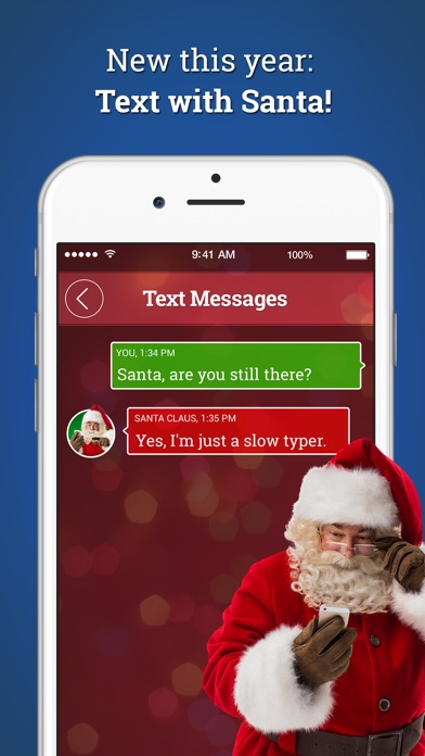 A Call From Santa! Voicemail & Text Messages on the App Store