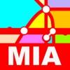 Miami Transport Map - Metrorail Map