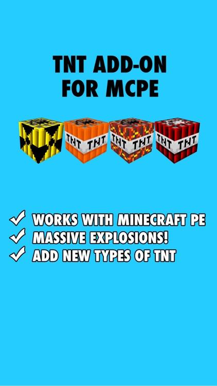 minecraft blowing tnt