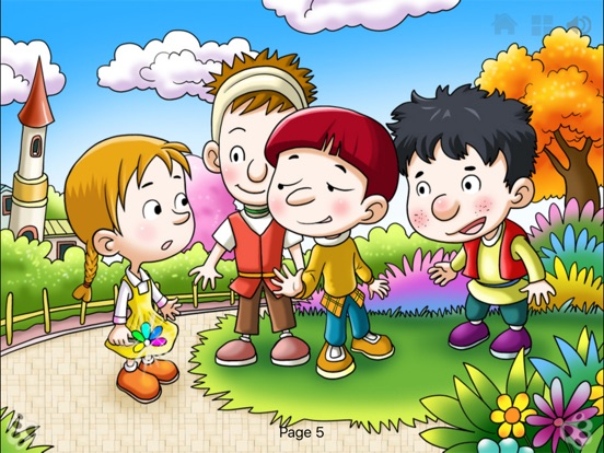 Seven Colored Flower Bedtime Fairy Tale iBigToy Скриншоты8