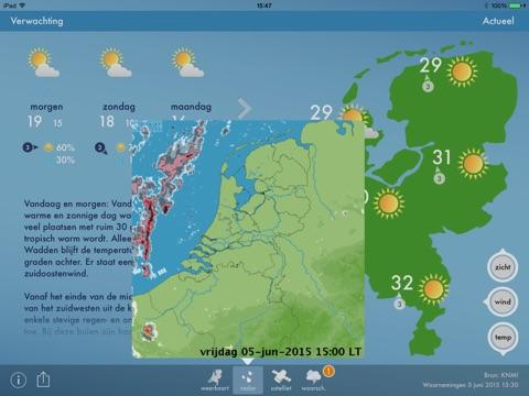 Weerbericht Nederland screenshot 3