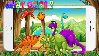Screenshot of dinosauro colore giochi esercizi test per bambini1