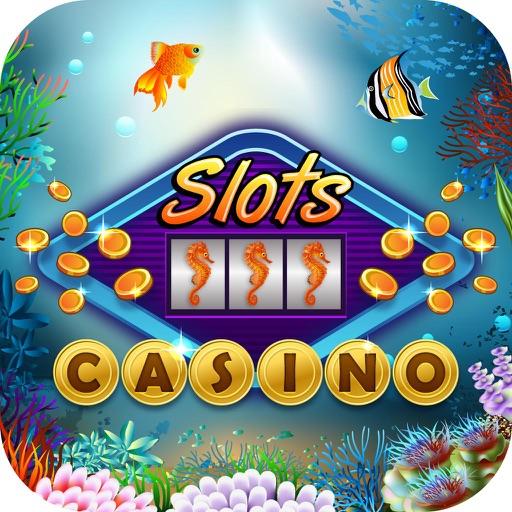 Atlantis Casino Craze : 3-Reel Party Slots Machine iOS App