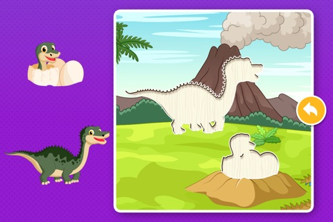 Dinosaur Games: Puzzle for Kids & Toddlers screenshot 4