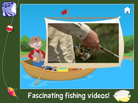 Fishing with grandpa a virtual fishing game for young for Fishing tournament app