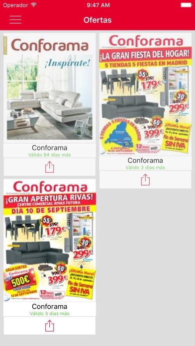 download Conforama – Catálogos y Folletos de muebles, sofás, colchones, decoración y electrodomésticos apps 1