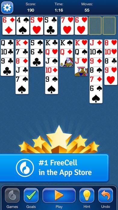 FreeCell Solitaire Card Game - App voor iPhone, iPad en ...