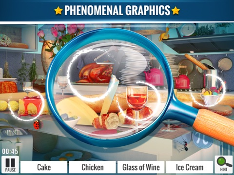 Hidden Object Messy Kitchen -Seek and Find Objects screenshot 1