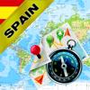 España, Portugal - Mapa fuera de línea y navegador GPS