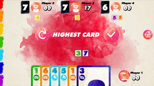 Red 7 - play Digital Red7 Card Game with Friends Screenshot