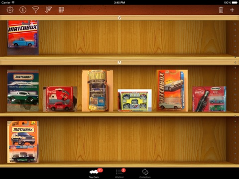 Toy Car Collectors for iPad screenshot 3