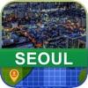 Оффлаин Сеул, Корея Карта - World Offline Maps