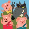 The Adventures of the Three Little Pigs