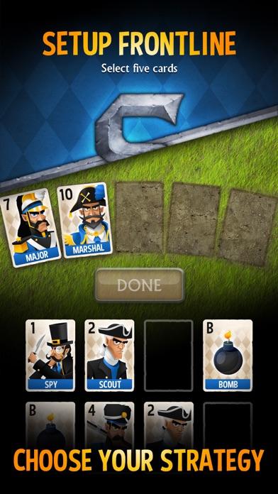 Stratego® Battle Cards Screenshot