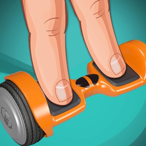 Hoverboard Stunts : Skateboarding Games for kids iOS App