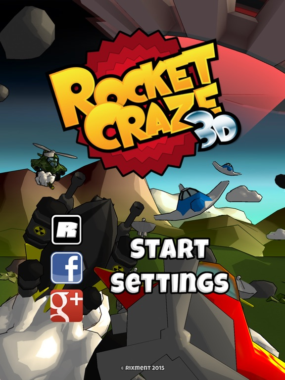 Rocket Craze 3D Screenshots