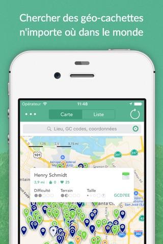 Cachly - Geocaching screenshot 1