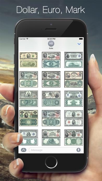 Screenshot of Money Sticker4