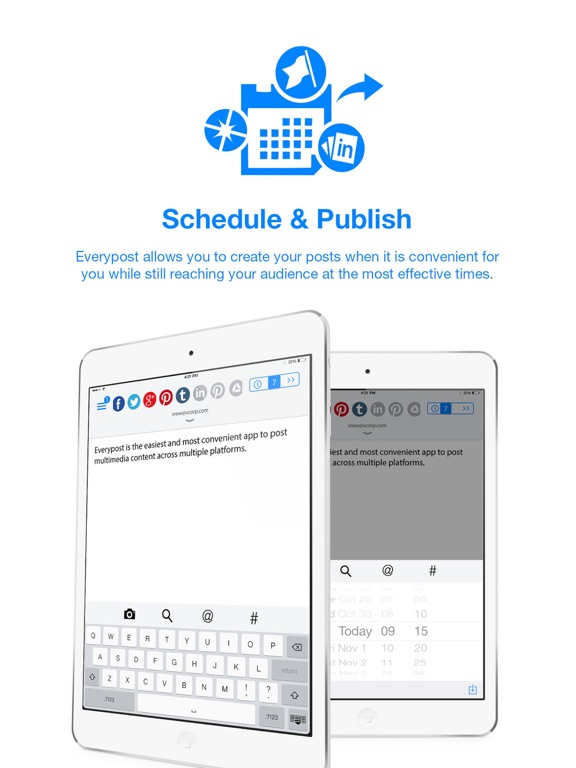 Everypost for Social Media Scheduling Screenshot
