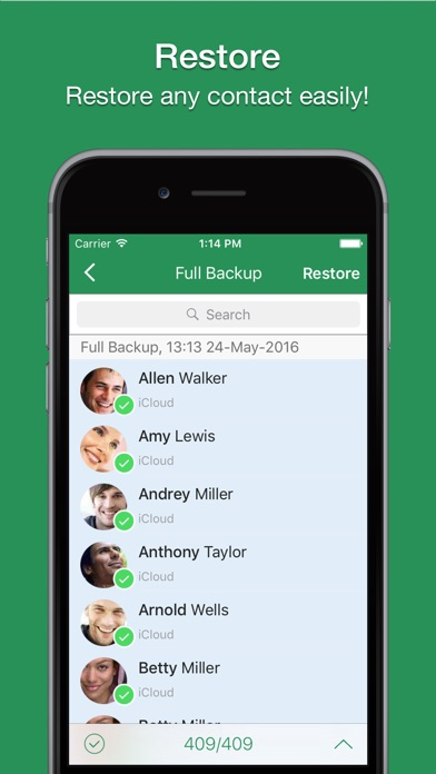 Screenshot #10 for Contacts 2 XLS - Export contacts to Excel