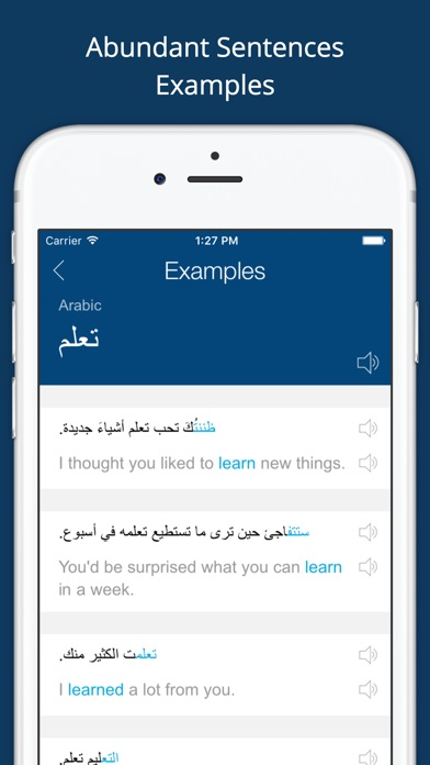 Arabic English Dictionary +لقطة شاشة4